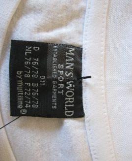 Tricou  bumbac marime americana 9  XL   MANS  WORLD