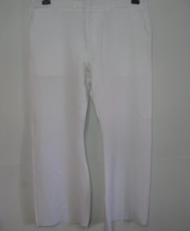 Pantalon alb subtire  ideal bucatarie - spital , marime americana 46
