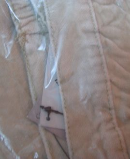 Pantalon catifea raiat cu elastic in talie  marime 4 XL   CELLBES