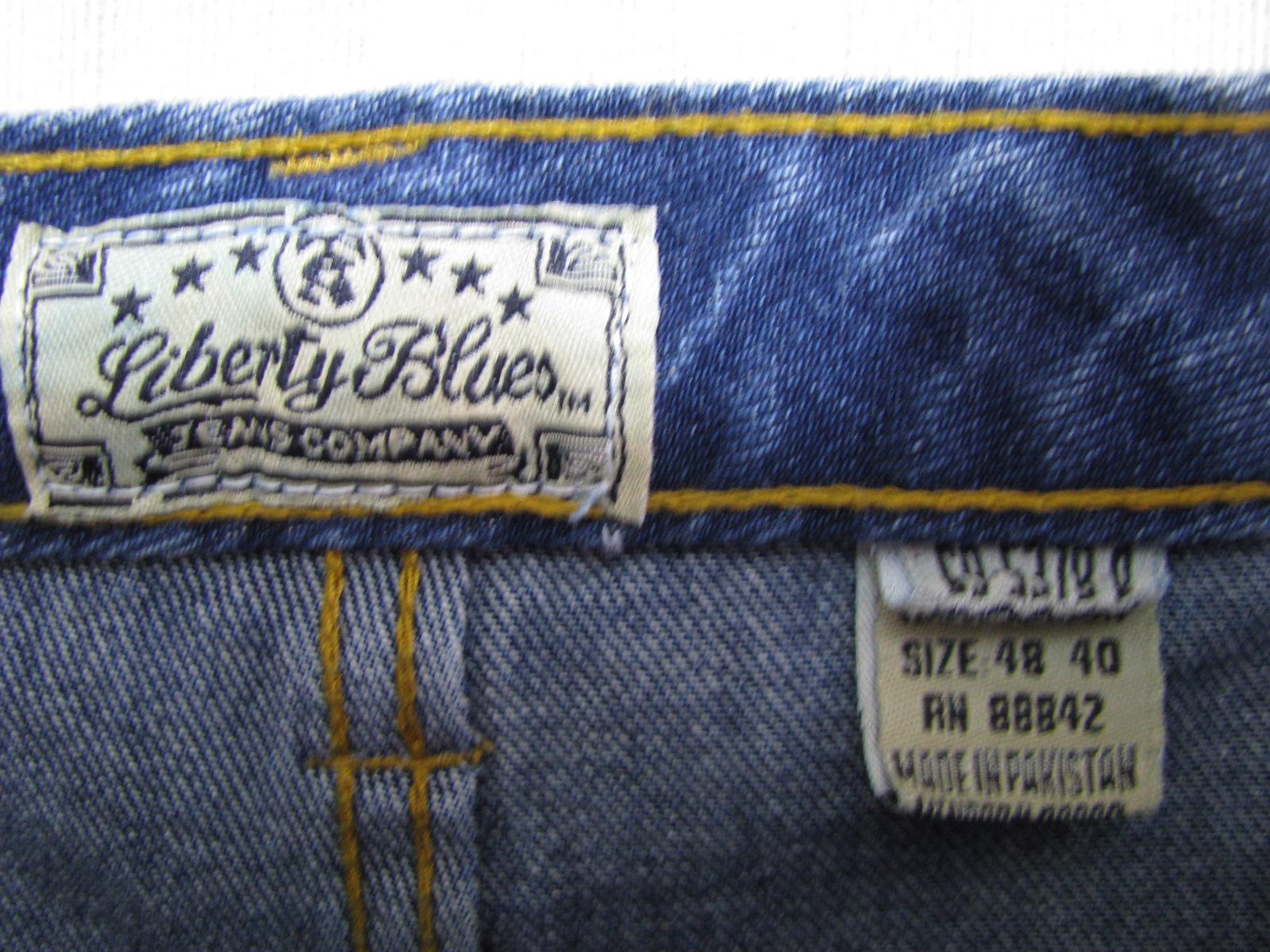 f95935c934 Pantalon jeans marime 48 LIBERTY BLUES - Haine XXXXL
