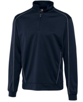Men's CB DryTec Edge Half Zip Size 2 XL
