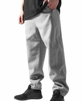 Pantalon trening bumbac gros captusit Gri Deschis 5XL URBAN CLASSICS
