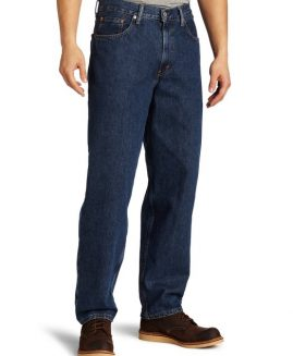 Pantalon jeans 46x29 ARIZONA Relaxed Straight