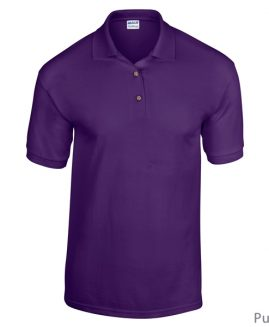 Tricou bumbac 100% pique polo Mov 3 XL GILDAN USA