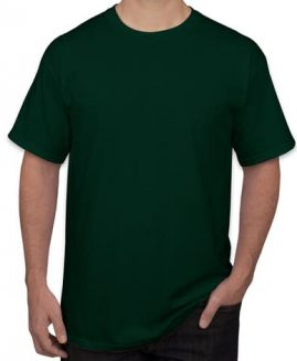 Tricou bumbac mineca scurta Verde Inchis 5 XL GILDAN USA