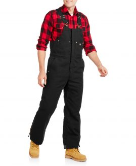 Walls Mens Insulated Duck Bib Overalls Medium Waist 42-44