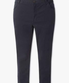 Pantalon jeans subtire Negru 66