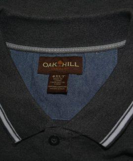Tricou bumbac bob de orez mineca scurta 4 XLT OAK HILL USA