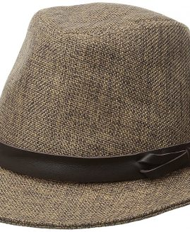 Goorin Bros. Men's Eric B  Fedora Kendo Jute  Hat Medium Brown