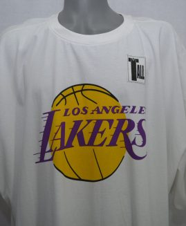 Tricou bumbac 100% preshurk 4 XL NBA Los Angeles Lakers