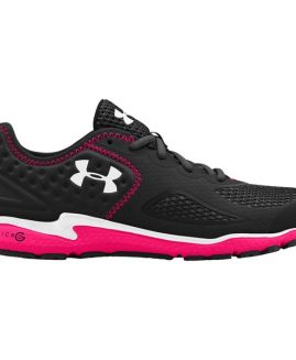 Under Armour Women's Micro G Mantis 2 Running Shoes - Black/Pink Shock/White Size 40,5 Eur