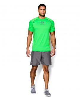 Under Armour Launch 7  Woven Mens Running Shorts - Grey Size SM