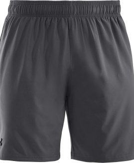 Under Armour Heatgear Mirage 8' Grey Short Men Size SM