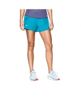Under Armour Women's  Fly Fast Shorts Bleu Size LG