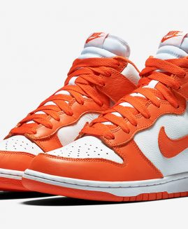"Nike Dunk High Retro QS ""Syracuse"" Leather Size 41 Eur"