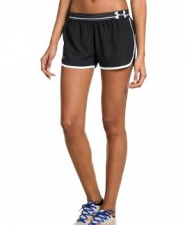 Under Armour Heat Gear Ladies short running Black Size MD