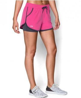 Under Armour Women's Heat Gear 2X Rally Shorts  Size LG