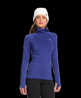 Under Armour® WOMEN'S COLDGEAR COZY NECK Blue Size  L G