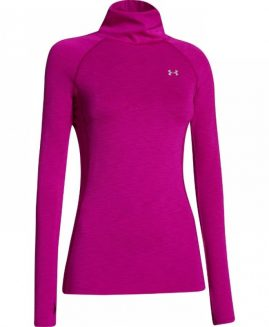 Under Armour® WOMEN'S COLDGEAR COZY NECK Fuchsia Size L G
