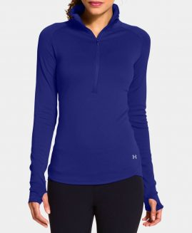 Under Armour Women's  Qualifier 1/2 Zip Cold Gear Cozy Crew Size LG