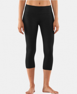Under Armour Women's StudioLux Tight Capri Black Size LG