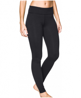 Under Armour StudioLux Womens Long Running Tights - Black Size LG