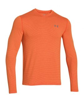 Under Armour Tricou mineca lunga Cold Gear Infrared Portocaliu XL