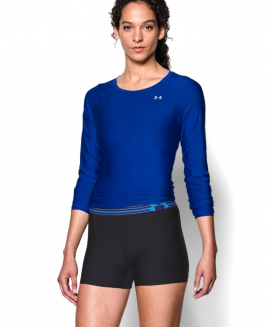 UNDER ARMOUR Heatgear  Compression Black/Blue Short Size LG
