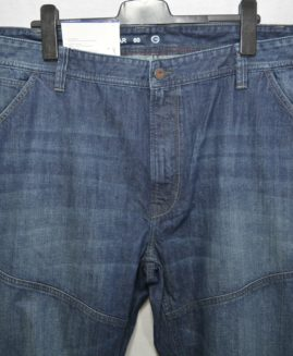 Pantalon jeans subtire albastru marime 60 THE REGULAR
