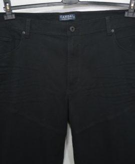 Pantalon jeans stretch negru marime 66 CANDA