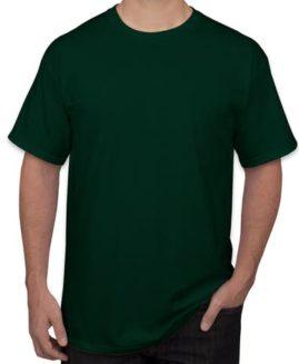 Tricou bumbac mineca scurta Verde Inchis 3 XL GILDAN USA