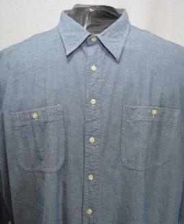 Camasa bumbac jeans mineca lunga 5 XL  Broken Shirt