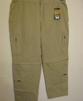 Pantalon doc 2 in 1 cu multe buzunare CREM
