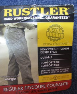 Pantalon jeans marime 42 RUSTLER