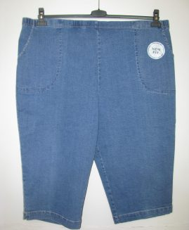 Pantalon stretch jeans 3/4  WHITE STAG