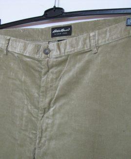 Pantalon catifea raiat foarte lung marime americana 48  EDDIE BAUER
