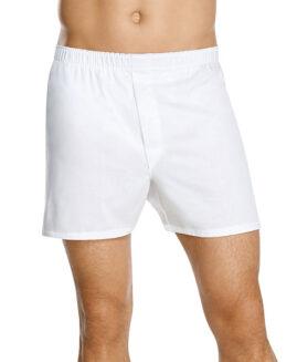 Boxer bumbac alb cu slit 7 xl american  ALAMICUTZU Talie 120 - 240 cm