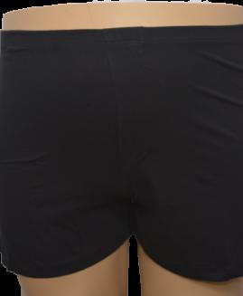 Boxer bumbac negru cu slit 2 xl american  ALAMICUTZU