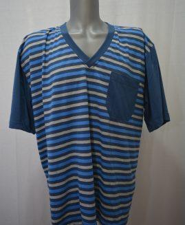 Pijama bumbac de vara cu pantalon scurt 2 XL  ALAMICUTZU