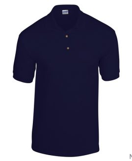 Tricou bumbac pique polo Navy 3 XL GILDAN USA
