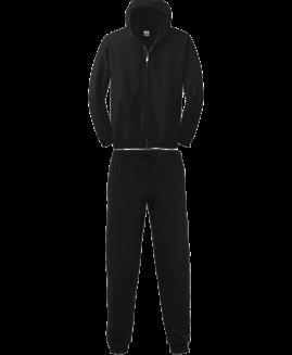 Trening bumbac hanorac cu fermoar Negru 4 XL GILDAN USA