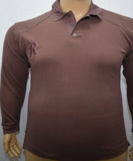 Tricou polo bumbac  Bordo 3 XL ANGELO LITRICO