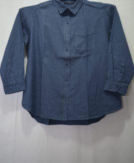 Camasa jeans mineca lunga 3 XL DENIM 24/7