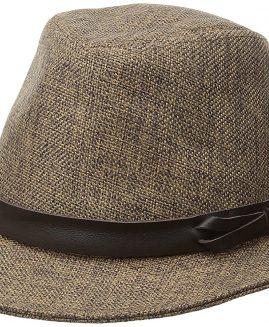 Goorin Bros. Men's Eric B  Fedora Kendo Jute  Hat Medium Brown