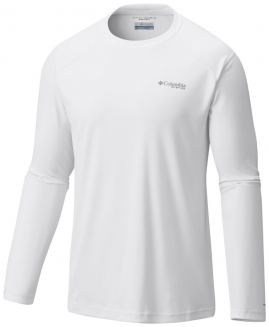 COLUMBIA SPORTSWEAR Men's PFG Blood and Guts™ III Long Sleeve Knit Shirt