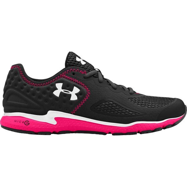 96282e9b5b73 Under Armour Women s Micro G Mantis 2 Running Shoes – Black Pink  Shock White Size 40