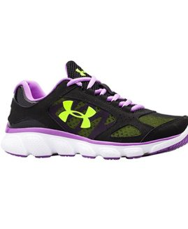 Under Armour Women Running Shoes Leather Upper Size 40 Eur