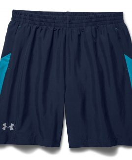 Under Armour Launch 7  Woven Mens Running Shorts - Blue Size SM