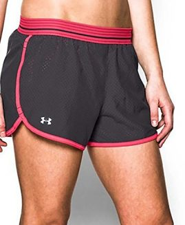 Under Armour Women's Perfect Pace Short Pink Size LG