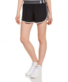 Under Armour Women's Perfect Pace Shorts Black Size MD